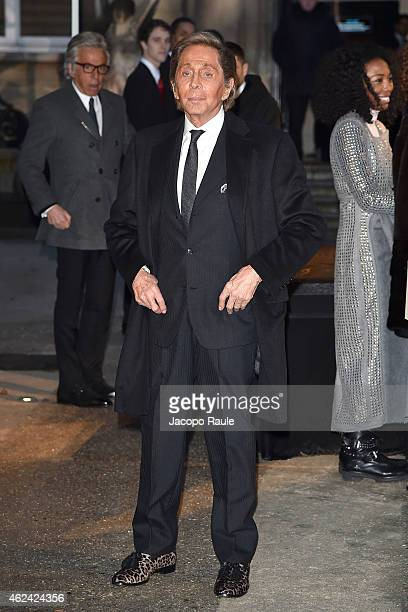 Valentino Garavani attends the Valentino show as part of Paris Fashion Week Haute Couture Spring/Summer 201 on January 28 2015 in Paris France