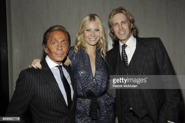 Valentino Garavani Gwyneth Paltrow and Bruce Hoeksema attend Gwyneth Paltrow and VBH's Bruce Hoeksema Host Cocktail Party for Valentino The Last...