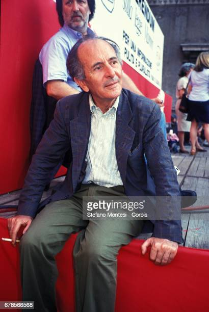 Valentino Parlato journalist and founder of the Communist Daily The Manifesto on October 31 2012 in Rome Italy