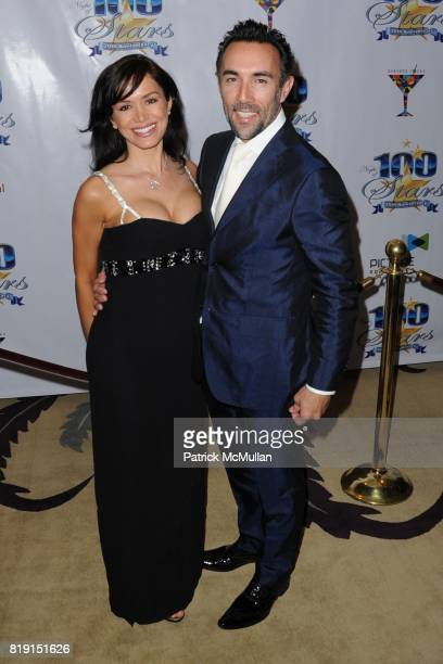 Valentino Quinn and Francesco Quinn attend A Night Of 100 Stars at Beverly Hills Hotel on March 7 2010 in Beverly Hills California