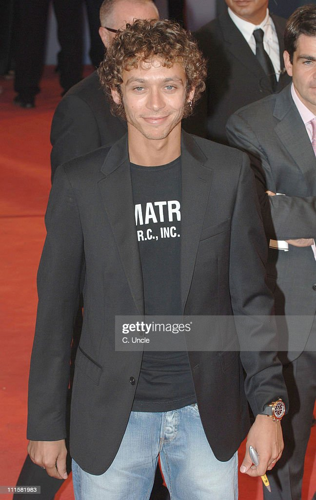 <a gi-track='captionPersonalityLinkClicked' href=/galleries/search?phrase=Valentino+Rossi&family=editorial&specificpeople=157603 ng-click='$event.stopPropagation()'>Valentino Rossi</a> during The 63rd International Venice Film Festival - 'Hollywoodland' Premiere - Arrivals at Palazzo Del Cinema Lido in Venice, Italy.