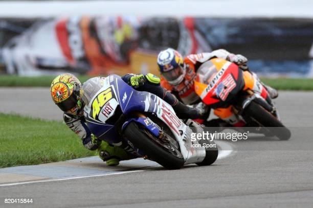 Valentino ROSSI / Nicky HAYDEN MotoGP Grand Prix des Etats Unis Indianapolis