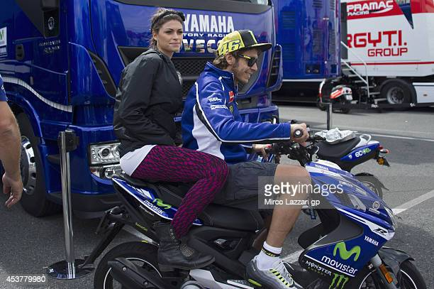 Valentino Rossi Girlfriend Stock Photos and Pictures | Getty Images