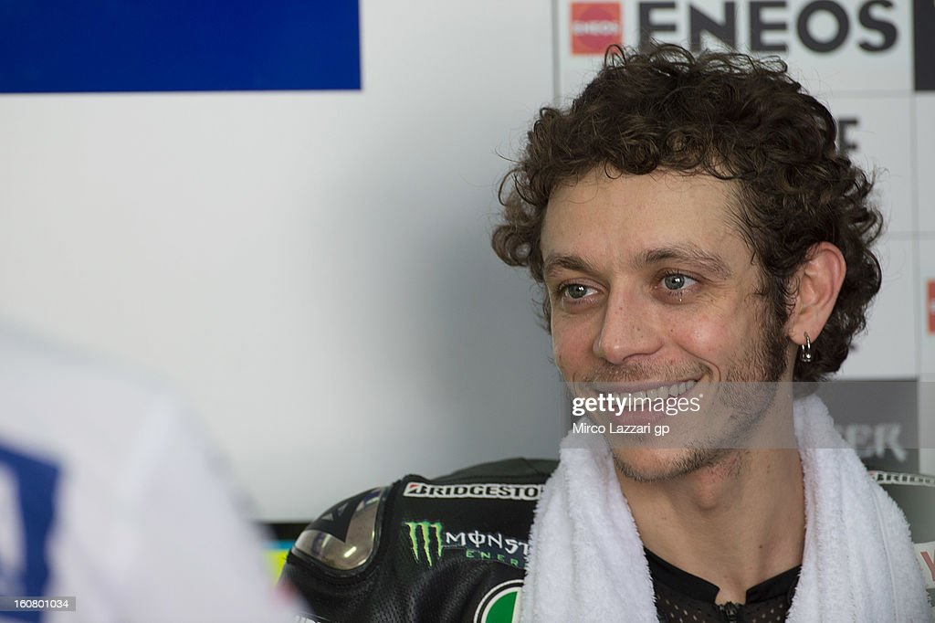 Valentino Rossi of Italy and Yamaha Factory Racing during the MotoGP Tests in Sepang - Day Four at Sepang Circuit on February 6, 2013 in Kuala Lumpur, Malaysia.