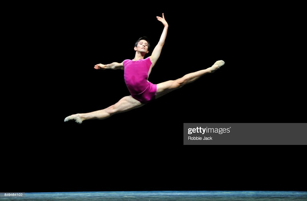 Valentino Zucchetti in the Royal Ballet's production The Vertiginous Thrill of Exactitude at Hull New Theatre on September 15, 2017 in Hull, England.