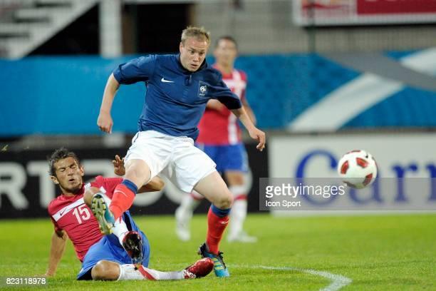 Valere GERMAIN France / Serbie Espoirs Match amical Rouen