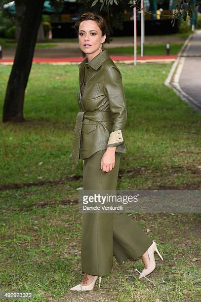 Valeria Bilello attends a photocall for 'Monitor' during the 10th Rome Film Fest on October 16 2015 in Rome Italy