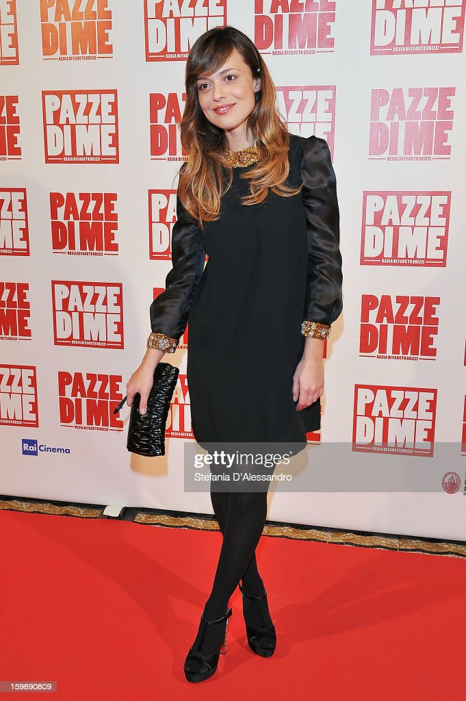 Valeria Bilello attends 'Pazze di Me' Premiere at Cinema Odeon on January 22, 2013 in Milan, Italy.