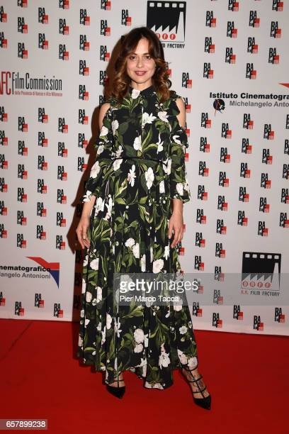 Valeria Bilello attends the BAFF Busto Arsizio Film Festival red carpet on March 25 2017 in Busto Arsizio Italy