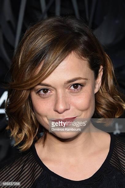 Valeria Bilello attends the Hugo Boss Prize 2014 at Guggenheim Museum on November 20 2014 in New York City