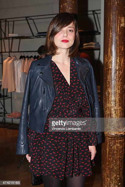 Valeria Bilello attends the Mauro Grifoni Presentation as part of Milan Fashion Week Womenswear Autumn/Winter 2014 on February 21 2014 in Milan Italy