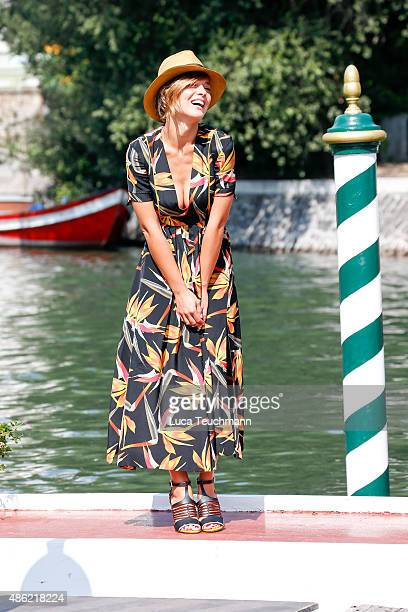 Valeria Bilello is seen during the 72nd Venice Film Festival on on September 2 2015 in Venice Italy