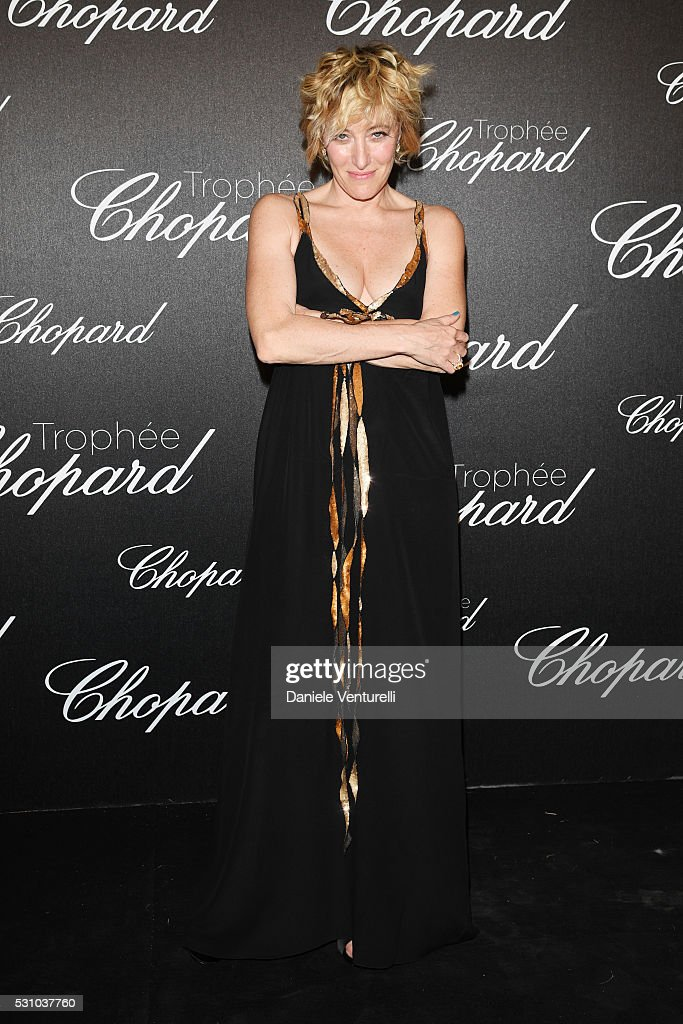 Valeria Bruni Tedeschi attends the Chopard Trophy Ceremony during The 69th Annual Cannes Film Festival on May 12, 2016 in Cannes,
