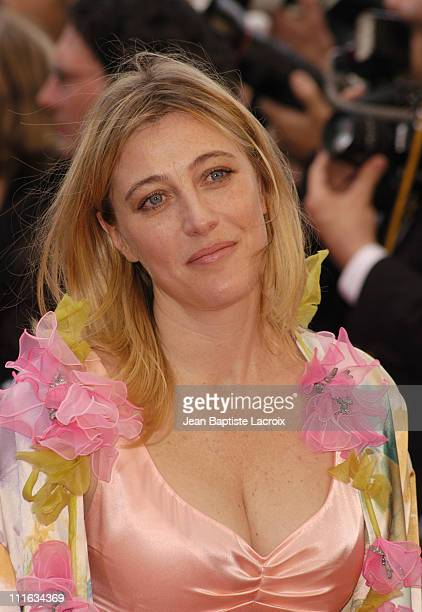 Valeria Bruni Tedeschi during 2003 Cannes Film Festival Closing Ceremony Arrivals at Palais des Festivals in Cannes France