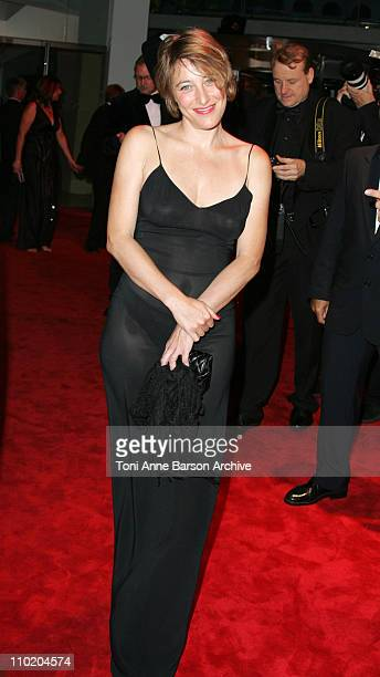 Valeria BruniTedeschi during Monaco Red Cross Ball 2004 Arrivals at Monte Carlo Sporting Club in MonteCarlo