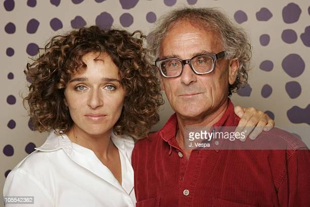 Valeria Golino and Antonio Capuano director during 2005 Toronto Film Festival 'Mario's War' Portraits at HP Portrait Studio in Toronto Canada