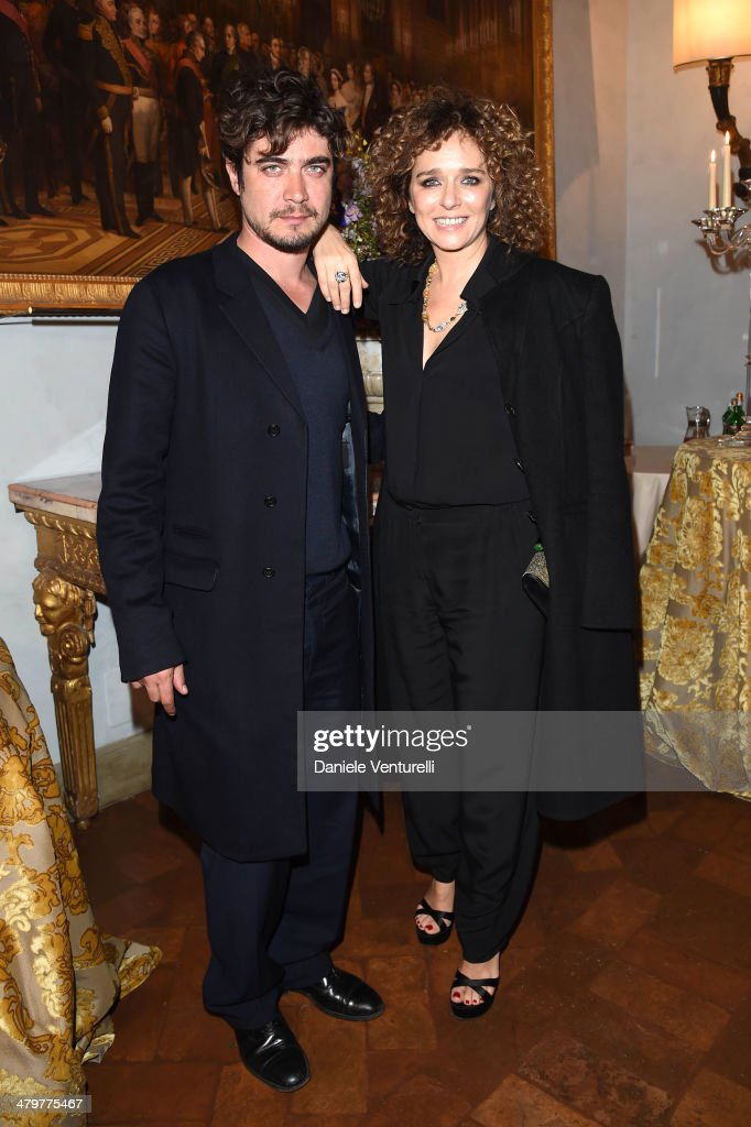 <a gi-track='captionPersonalityLinkClicked' href=/galleries/search?phrase=Valeria+Golino&family=editorial&specificpeople=676323 ng-click='$event.stopPropagation()'>Valeria Golino</a> and <a gi-track='captionPersonalityLinkClicked' href=/galleries/search?phrase=Riccardo+Scamarcio&family=editorial&specificpeople=816804 ng-click='$event.stopPropagation()'>Riccardo Scamarcio</a> attend 'Bvlgari Celebrates 130 Years In Rome' at Via Condotti on March 20, 2014 in Rome, Italy.