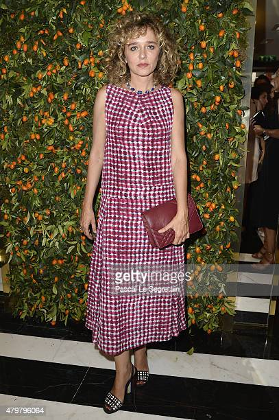 Valeria Golino at Tory Burch Paris Flagship store opening on July 7 2015 in Paris France