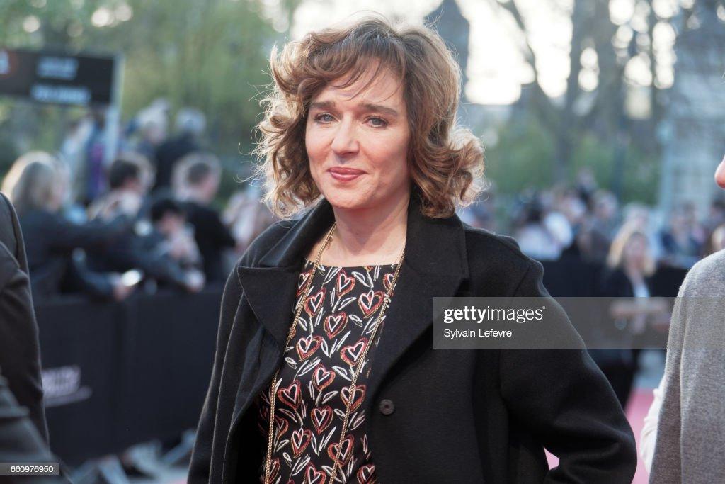 Valeria Golino attends 9th Beaune International Thriller Film Festival on March 30, 2017 in Beaune, France.
