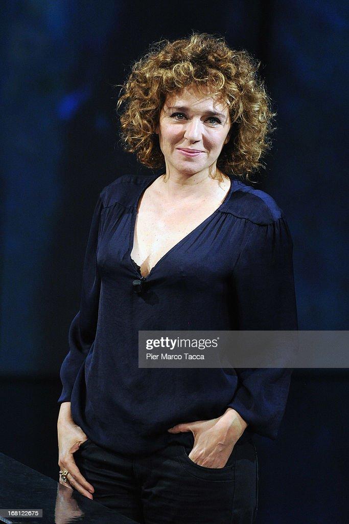 Valeria Golino attends 'Che Tempo Che Fa' TV show on May 5, 2013 in Milan, Italy.