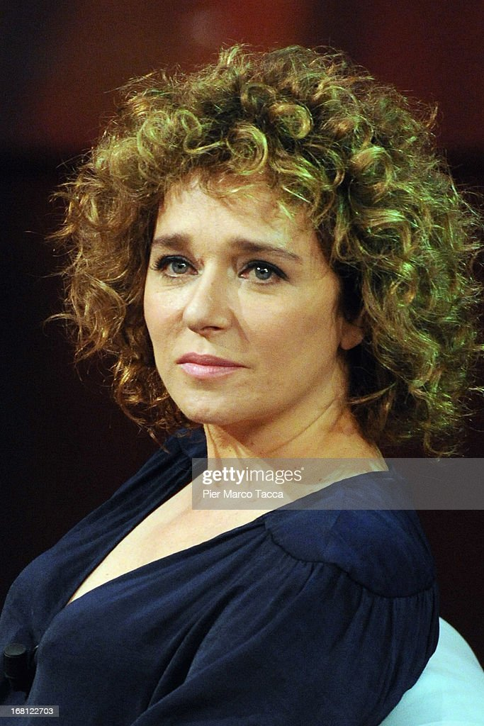 <a gi-track='captionPersonalityLinkClicked' href=/galleries/search?phrase=Valeria+Golino&family=editorial&specificpeople=676323 ng-click='$event.stopPropagation()'>Valeria Golino</a> attends 'Che Tempo Che Fa' TV show on May 5, 2013 in Milan, Italy.