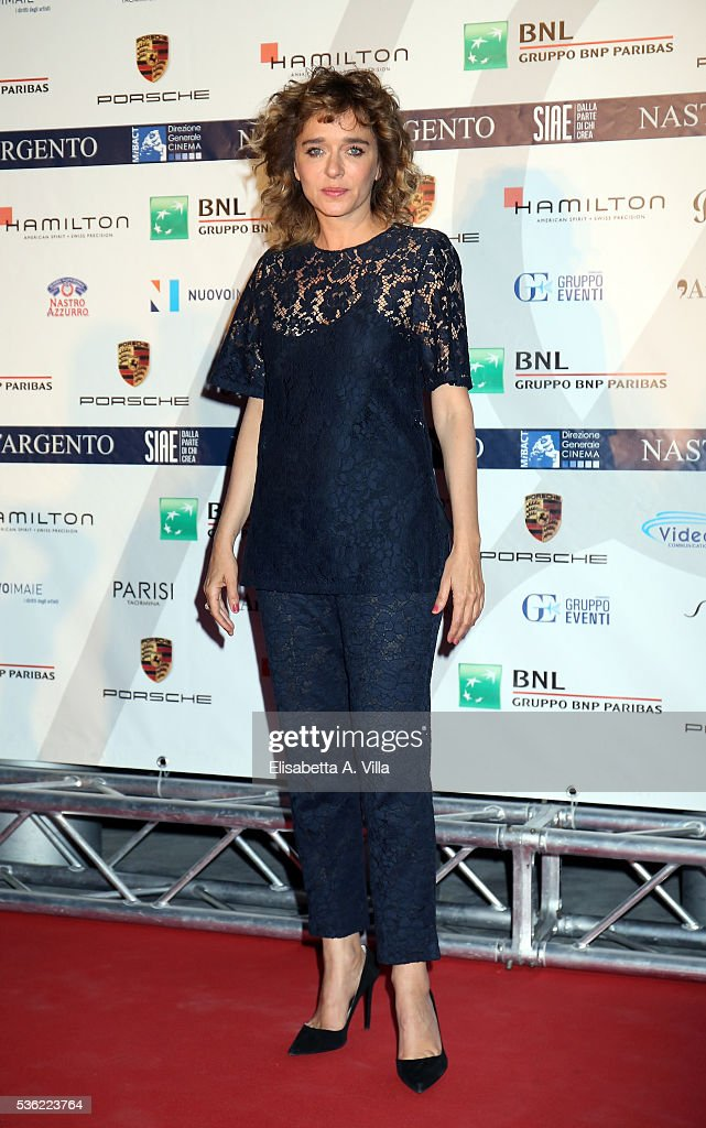 Valeria Golino attends Nastri D'Argento 2016 Award Nominations at Maxxi on May 31, 2016 in Rome, Italy.