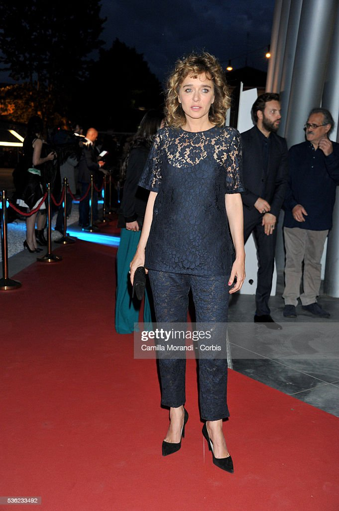<a gi-track='captionPersonalityLinkClicked' href=/galleries/search?phrase=Valeria+Golino&family=editorial&specificpeople=676323 ng-click='$event.stopPropagation()'>Valeria Golino</a> attends Nastri D'Argento 2016 Award Nominations Red carpet on May 31, 2016 in Rome, Italy.