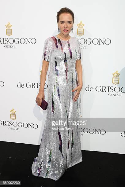 Valeria Golino attends the De Grisogono Party at the annual 69th Cannes Film Festival at Hotel du CapEdenRoc on May 17 2016 in Cap d'Antibes France