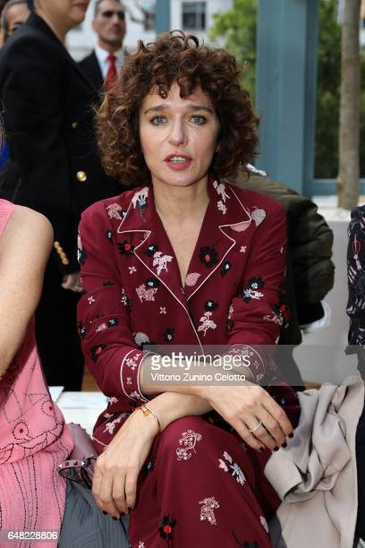 Valeria Golino attends the Valentino show as part of the Paris Fashion Week Womenswear Fall/Winter 2017/2018 on March 5 2017 in Paris France