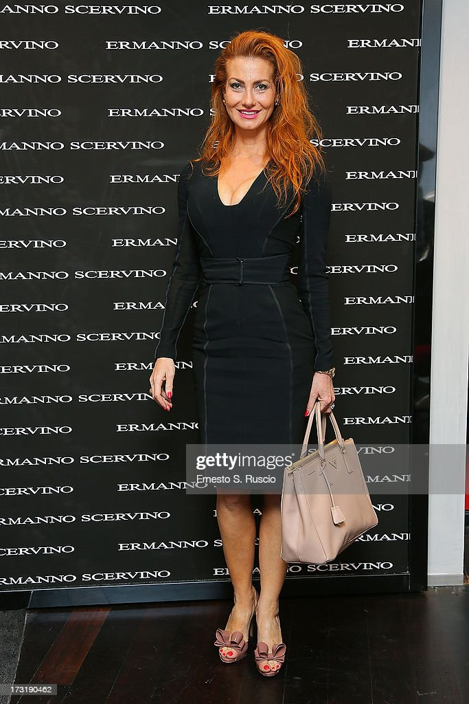 Valeria Mangani attends the Ermanno Scervino Store Opening as a part of AltaRoma AltaModa on July 9, 2013 in Rome, Italy.