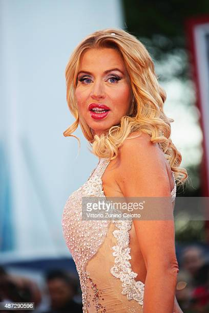 Valeria Marini attends a premiere for 'Blood Of My Blood' during the 72nd Venice Film Festival at on September 8 2015 in Venice Italy