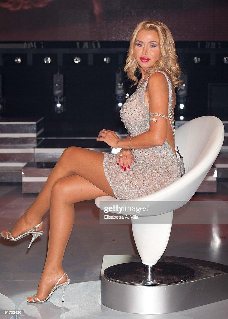 Valeria Marini attends 'Domenica In - Il Salotto Di Valeria' at RAI ...