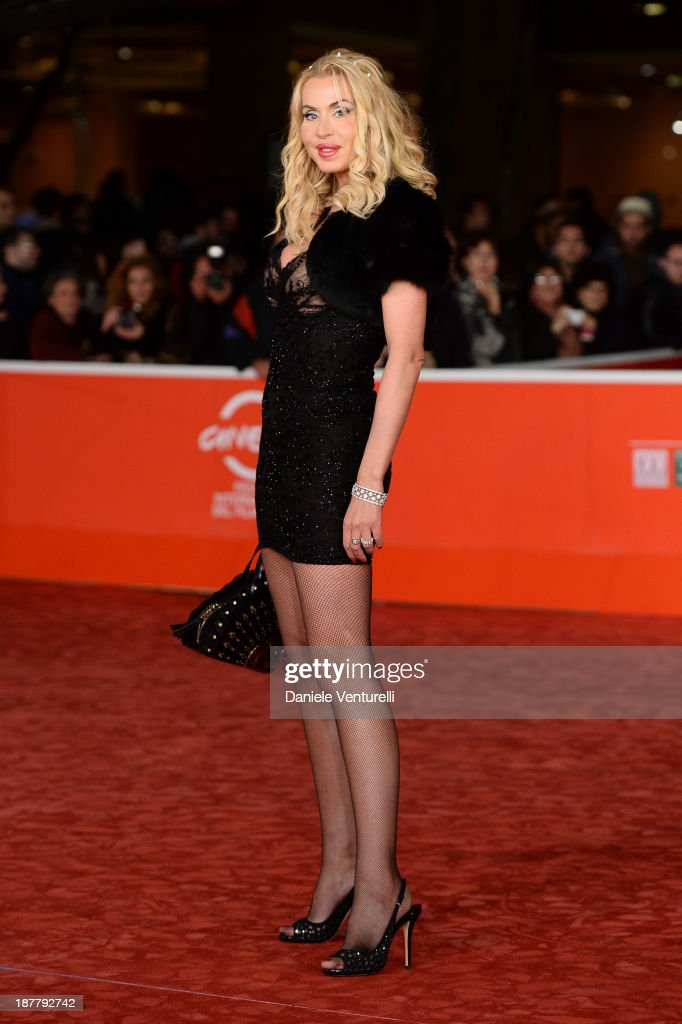 Valeria Marini attends 'Racconti D'Amore' Premiere during The 8th Rome Film Festival on November 12, 2013 in Rome, Italy.