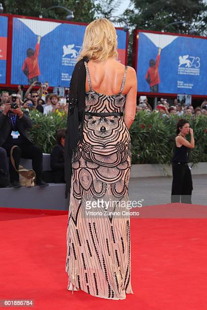 Valeria Marini attends the closing ceremony of the 73rd Venice Film Festival at Sala Grande on September 10 2016 in Venice Italy