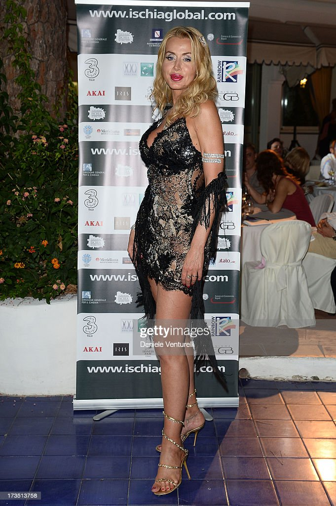 Valeria Marini attends the Day 3 of Ischia Global Fest 2013 on July 15, 2013 in Ischia, Italy.