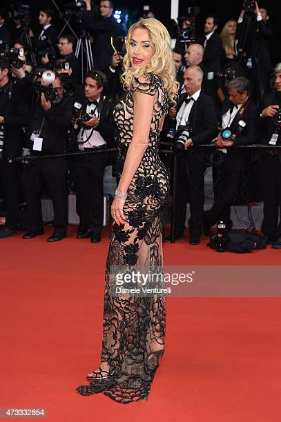 Valeria Marini attends the 'Il Racconto Dei Racconti' Premiere during the 68th annual Cannes Film Festival on May 14 2015 in Cannes France