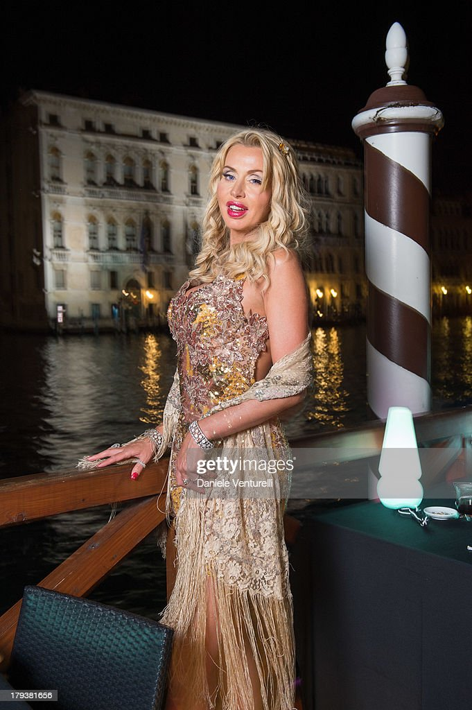 Valeria Marini attends the 'Kill Your Darlings' Party during the 70th Venice International Film Festival at the Centurion Palace Hotel on September 2, 2013 in Venice, Italy.