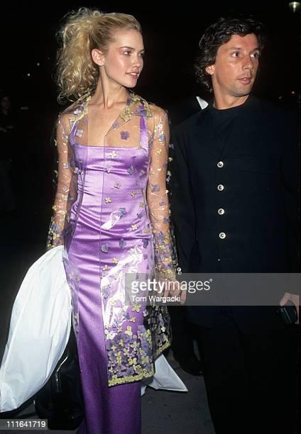Valeria Maza and Boyfriend Alejandro Gravier at New York Fashion Week