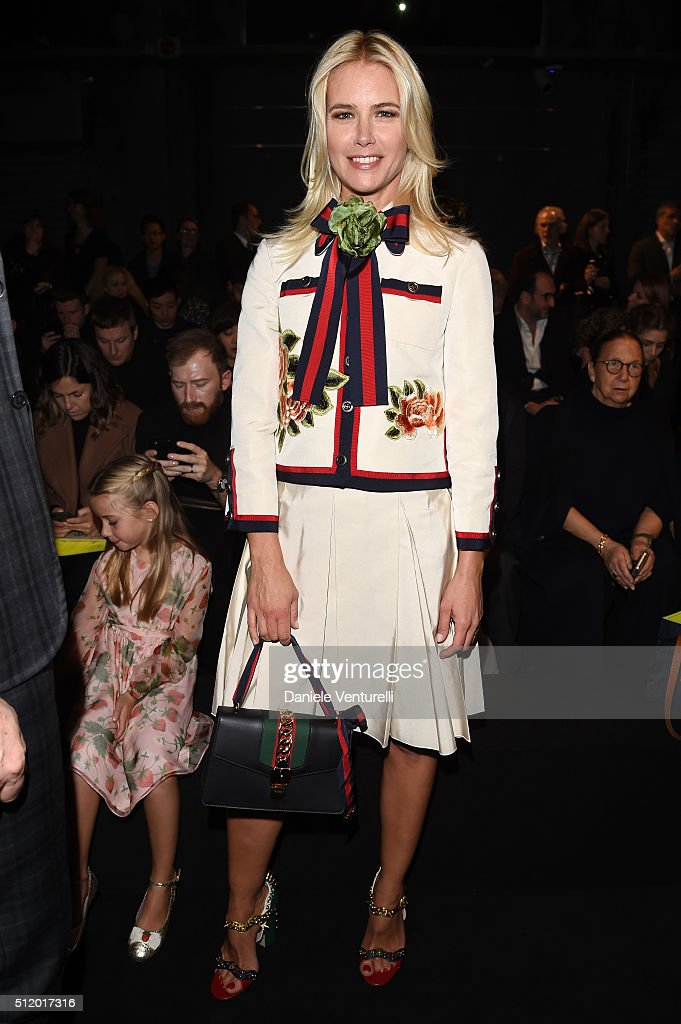 Gucci - Front Row - Milan Fashion Week  FW16