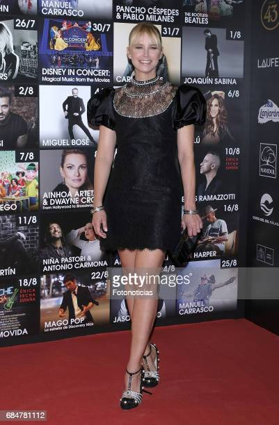 Valeria Mazza attends the Starlite 2017 presentation party at the Teatro Gran Maestre on May 18 2017 in Madrid Spain