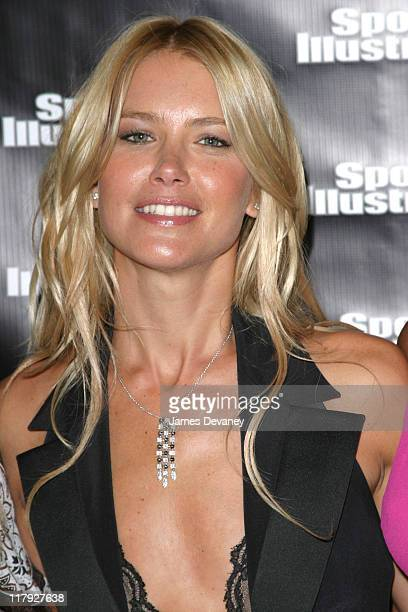 Valeria Mazza during 2004 Sports Illustrated Swimsuit Issue Top Models Celebrate the Issue's 40th Anniversary at Club Deep in New York City New York...