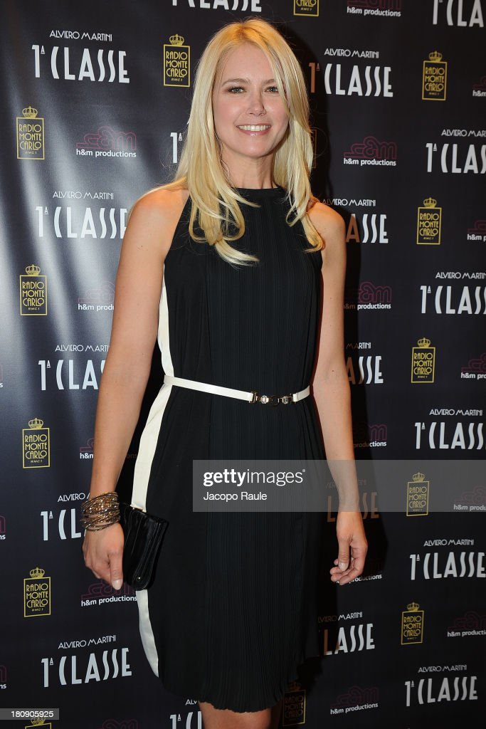 <a gi-track='captionPersonalityLinkClicked' href=/galleries/search?phrase=Valeria+Mazza&family=editorial&specificpeople=213765 ng-click='$event.stopPropagation()'>Valeria Mazza</a> is seen at Alviero Martini Store during The Milan Vogue Fashion Night Out on September 17, 2013 in Milan, Italy.