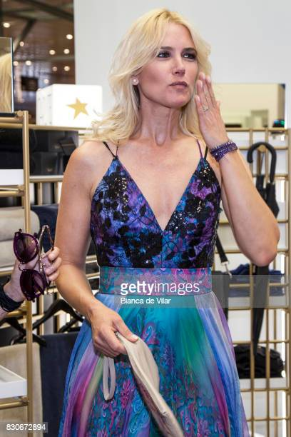 Valeria Mazza presents her new collection on August 12 2017 in Marbella Spain