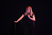 Comedian Valeria Ros Performs On Stage In Madrid