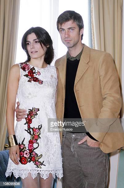 Valeria Solarino and Kim Rossi Stuart attend the 'Vallanzasca Gli Angeli Del Male' photocall at Eden Hotel on January 17 2011 in Rome Italy