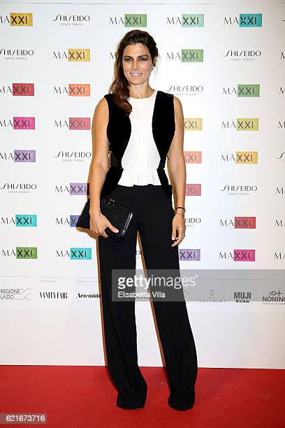 Valeria Solarino attends a photocall for the MAXXI Acquisition Gala Dinner 2016 at Maxxi Museum on November 7 2016 in Rome Italy