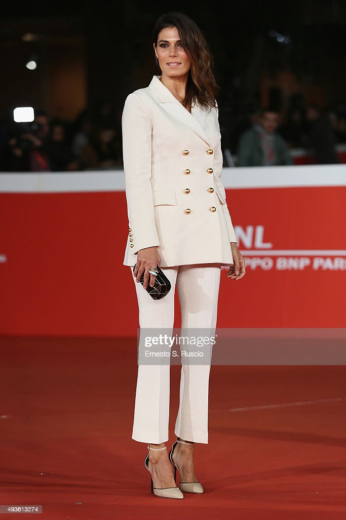 Valeria Solarino attends a red carpet for 'Dobbiamo Parlare' during the 10th Rome Film Fest on October 21 2015 in Rome Italy