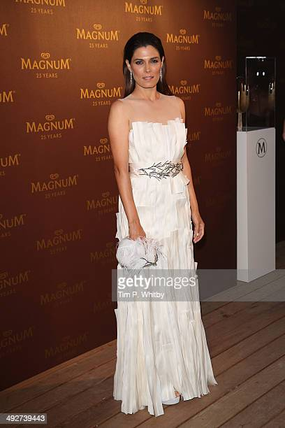 Valeria Solarino attends the Magnum 25th Anniversary party during the 67th Annual Cannes Film Festival on May 21 2014 in Cannes France
