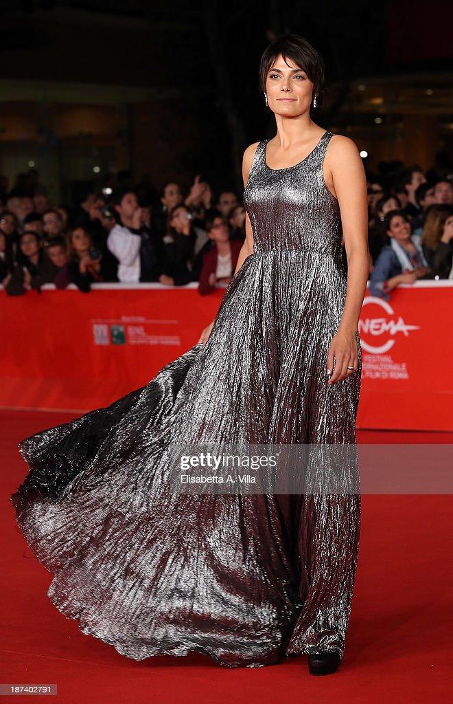 Valeria Solarino attends the Opening Ceremony and 'L'Ultima Ruota Del Carro' Premiere during The 8th Rome Film Festival on November 8 2013 in Rome...