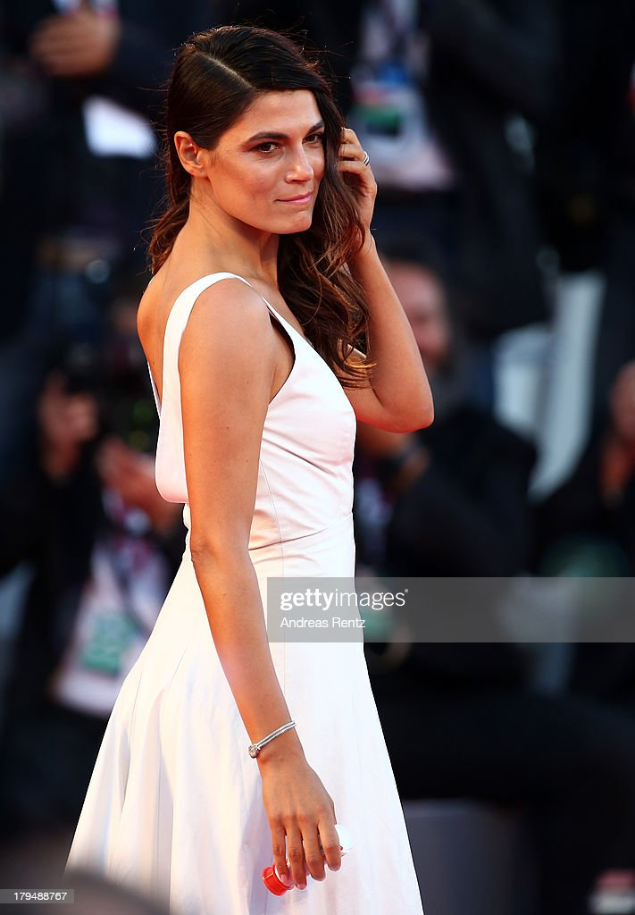 Valeria Solarino wears a Jaeger-LeCoultre watch at the 'L'Intrepido' Premiere during the 70th Venice Film Festival at the Palazzo del Cinema on September 4, 2013 in Venice, Italy.